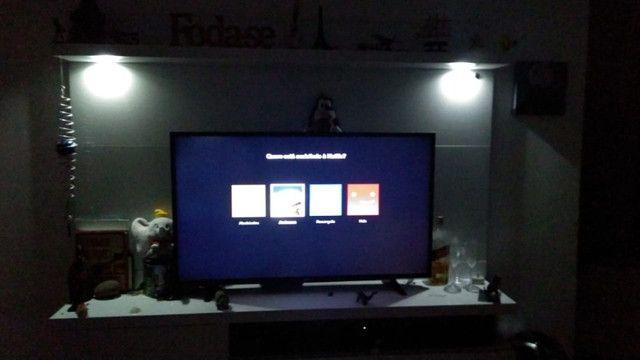 Rack Suspenso com iluminação LED. Muito bonito!!! - Foto 2