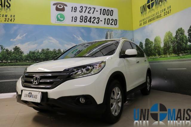 Honda Crv Exl 2014 Automatica Top Linha Flex Teto Solar Muito Nova Apenas 69.900 Lja
