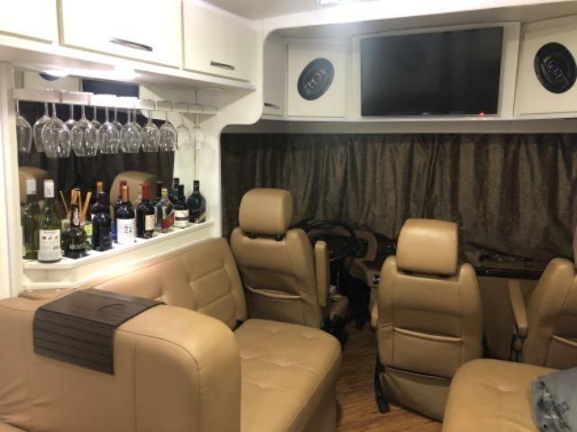 Motorhome ônibus Mercedes 2001 automático / montagem 2017 raridade - Foto 5