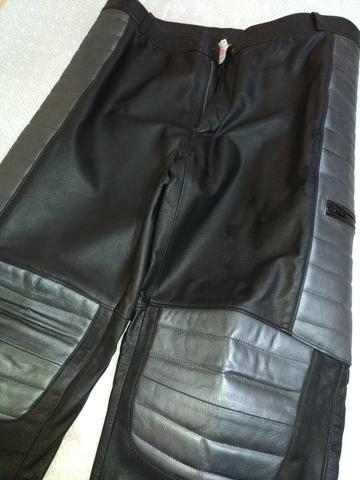 Conjunto calça e jaqueta 100% couro - Foto 5