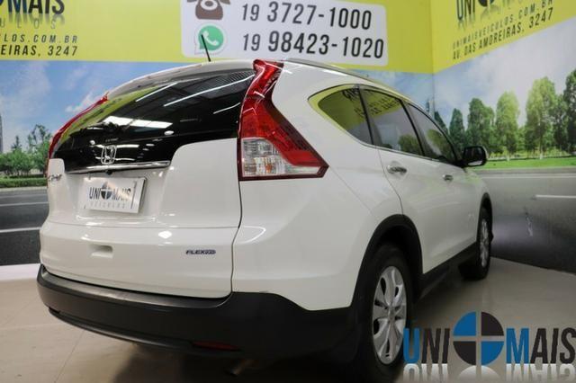 Honda Crv Exl 2014 Automatica Top Linha Flex Teto Solar Muito Nova Apenas 69.900 Lja - Foto 8