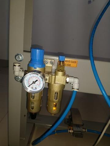 Máquina de prega botão Pneumática Metalnorte - Foto 2