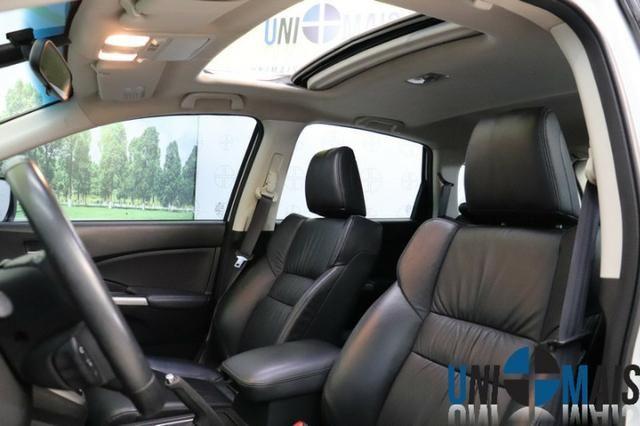 Honda Crv Exl 2014 Automatica Top Linha Flex Teto Solar Muito Nova Apenas 69.900 Lja - Foto 12