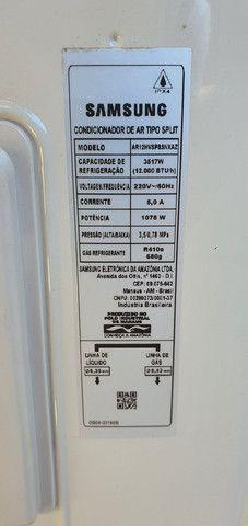 (Só a Condensadora) Ar condicionado Samsung inverter 12.000 BTUS Novo! - Foto 2