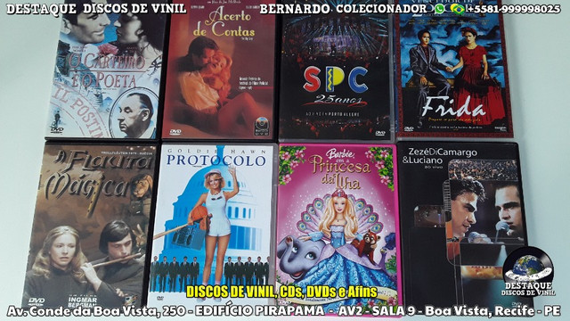 CDs, DVDs e Discos de Vinil Variados, Venha Cinhecer Nosso Acervo - Foto 6
