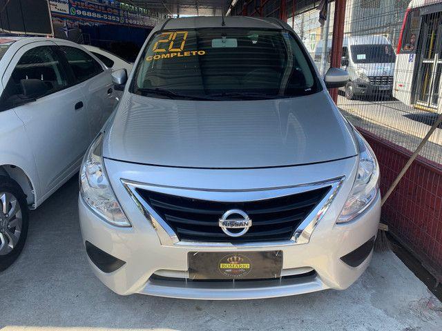 Nissan Versa 2020 + GNV (Único Dono, entrada + 48x 934,00)