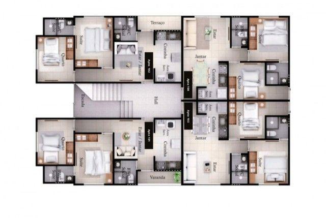 Apartamento em Paratibi com 2 quartos, piscina e área gourmet. Lançamento!!! - Foto 4