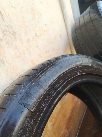 2 pneus 205/50r17 runflat (Não murcham)  - Foto 3