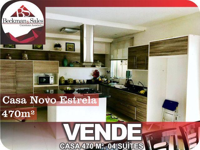 Belíssima Casa de 05 (Cinco) Suítes. - Foto 9