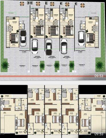 (TH1007) Duplex com 2 suítes e garagem semi coberta no bairro Forquilhas em São José!!!   - Foto 12