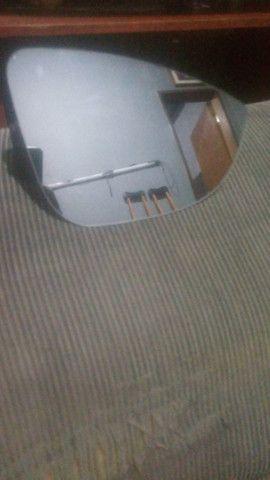 lente com base de retrovisor direito do lifan 530 - Foto 2