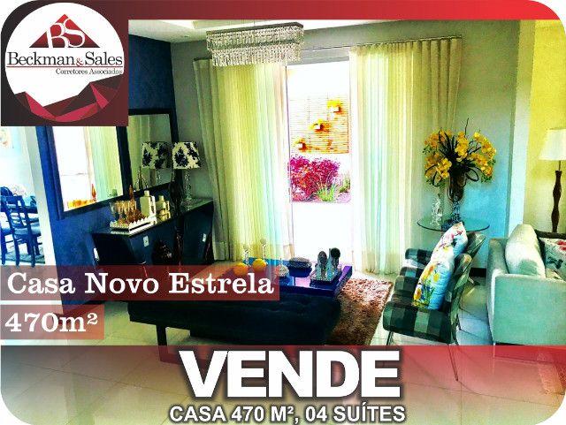 Belíssima Casa de 05 (Cinco) Suítes. - Foto 15