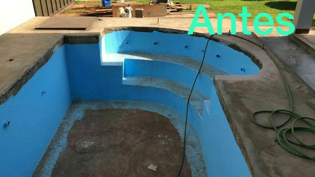 Troca de vinil por revestimento em fibra vidro  - Foto 3