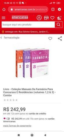 Livro - Coleção Manuais Da Farmácia Para Concursos E Residências