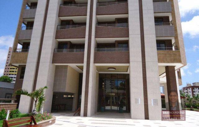 Apartamento no Villa Sonata com 3 dormitórios à venda, 124 m² por R$ 850.000 - Aldeota - F - Foto 17