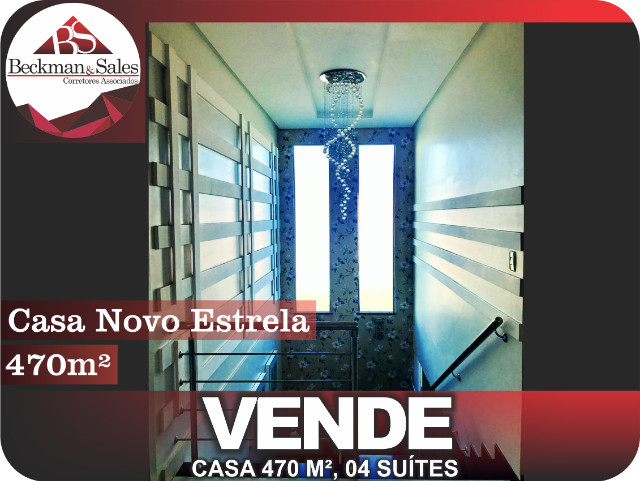 Belíssima Casa de 05 (Cinco) Suítes. - Foto 14
