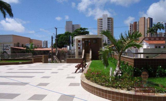 Apartamento no Villa Sonata com 3 dormitórios à venda, 124 m² por R$ 850.000 - Aldeota - F - Foto 14
