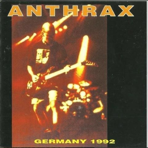 Anthrax - Germany 1992 (bootleg) CD
