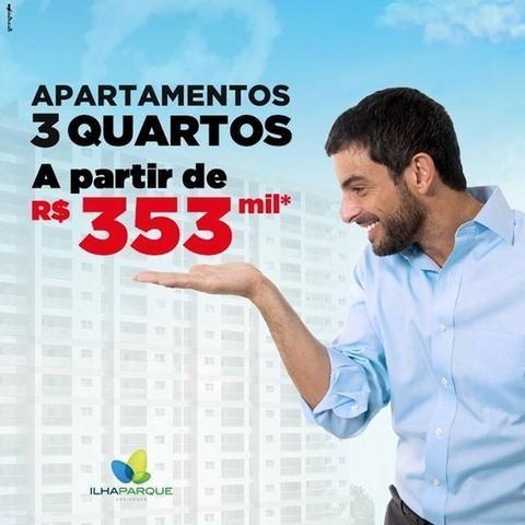 Ilha Parque Ao Lado Shopping da ilha// 40 itens de lazer// ITBI e Cartorio Gratis