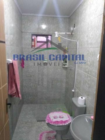 Qr 513 casa com 03 quartos s/ 01 suíte, reformada , Finnacia e pode usar FGTS - Foto 6