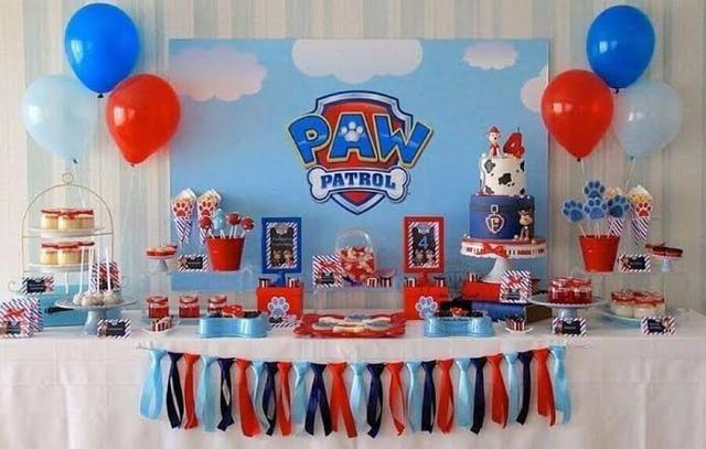 250,0 Decoração + brinquedos de aniversário infantil