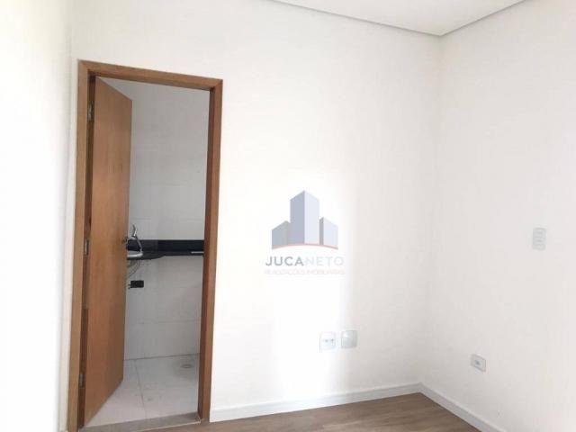Apartamento com 2 dormitórios para alugar, 68 m² por r$ 1.125/mês - parque são vicente - m - Foto 20