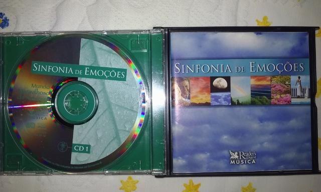 Cd Sinfonia de Emoções Box 5cds - Foto 4