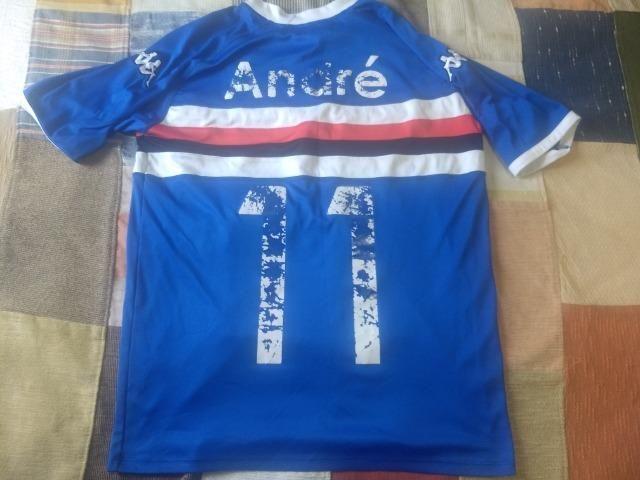 Camisa de futebol Sampdoria kappa - Foto 3