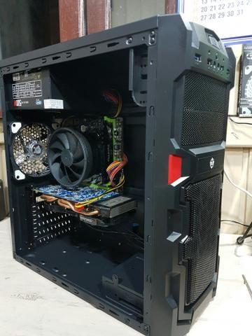 CPU GAMER Ryzen 5 1400, 16gb ram DDR4, GTX 660, SSD 120GB - Foto 5