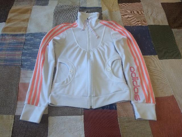 Jaqueta Adidas Feminina branca