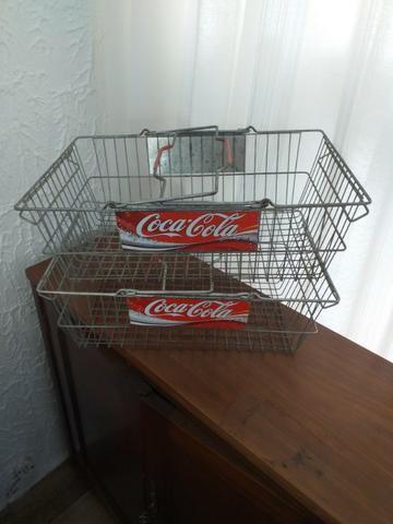 Antiga cestas Coca Cola Originais