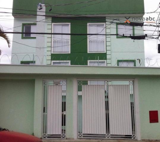 Kitnet com 2 dormitórios para alugar, 40 m² por R$ 1.000,00/mês - Vila Príncipe de Gales -