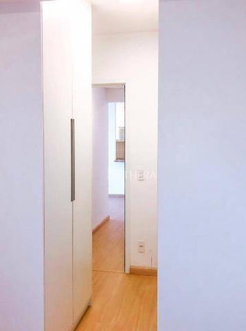 Apartamento com 2 dormitórios para alugar, 71 m² por r$ 2.200/mês - vila assunção - santo  - Foto 10