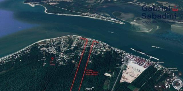 Terreno à venda, 300 m² por r$ 30.000,00 - praia dos veleiros - itapoá/sc - Foto 2