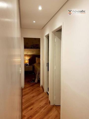 Apartamento com 2 dormitórios para alugar, 50 m² por R$ 1.350/mês - Parque Erasmo Assunção - Foto 11