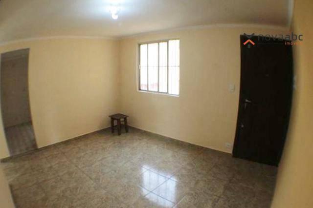 Apartamento com 2 dormitórios para alugar, 50 m² por R$ 1.020/mês - Vila Camilópolis - San