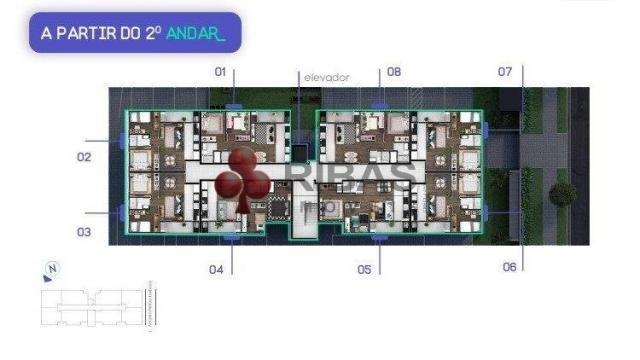 Apartamento à venda com 2 dormitórios em Capão raso, Curitiba cod:15426 - Foto 14