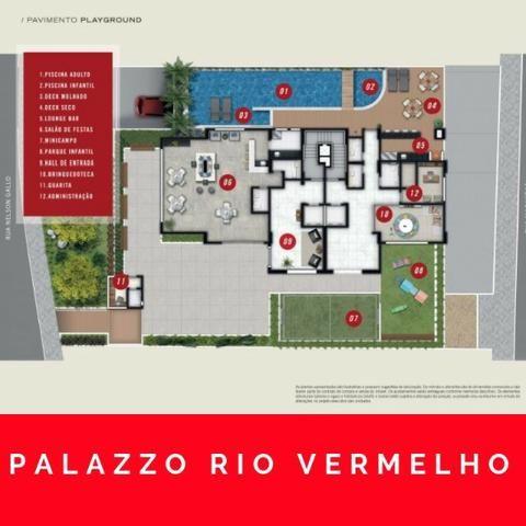 Pallazzo Rio Vermelho, 1/4 e 3/4 - entrega 12/2021 - Foto 9