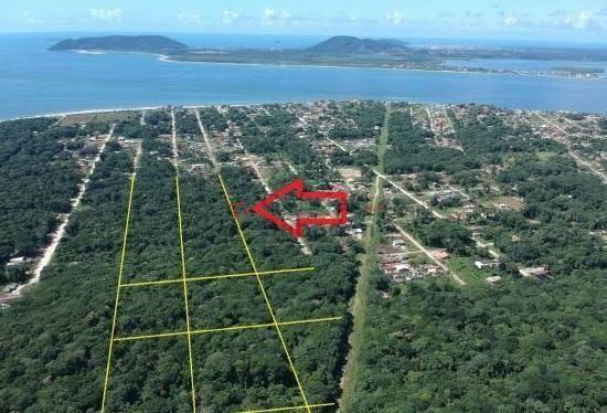 Terreno à venda, 300 m² por r$ 30.000,00 - praia dos veleiros - itapoá/sc