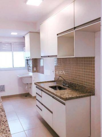 Apartamento com 2 dormitórios para alugar, 71 m² por r$ 2.200/mês - vila assunção - santo