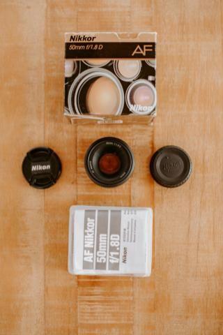 Lente Nikon 50 mm 1.8 D
