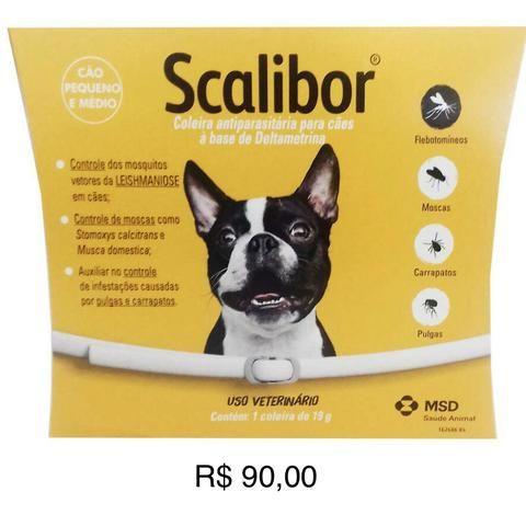 Coleira Antiparasitas SCALIBOR - Foto 2