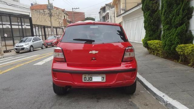 Chevrolet - Agile LTZ 1.4 Flex 2014 Vermelho Completo Super Novo Doc OK - Foto 7