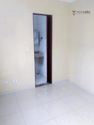 Apartamento com 2 dormitórios para alugar, 56 m² por R$ 1.100,00/mês - Parque Oratório - S - Foto 17