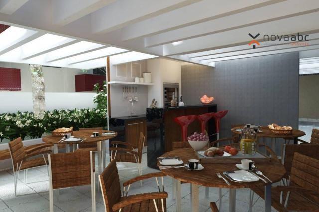 Apartamento com 2 dormitórios e varanda gourmet para alugar, 70 m² em condomínio completo  - Foto 15
