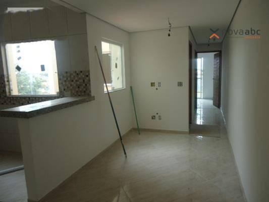 Cobertura com 2 dormitórios para alugar, 48 m² por R$ 1.400/mês - Parque Novo Oratório - S - Foto 4