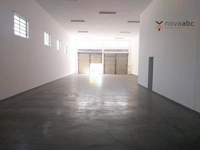 Salão com energia trifásica para alugar, 350 m² por R$ 5.000/mês - Jardim Ana Maria - Sant