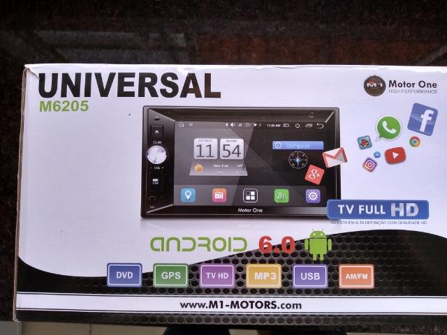 Central Multimidia M1 M-6205 (motor one) 2din, gps,tv Full Hd,android 6.0 - Foto 3
