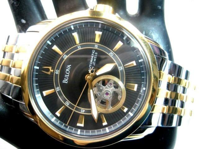 Relógio Bulova Automático Modelo 98A101 Masculino