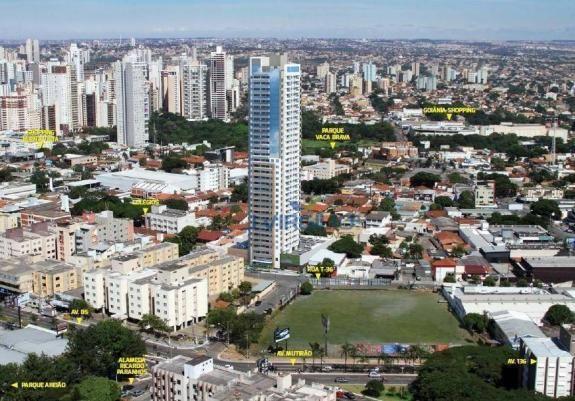 Apartamento com 1 quarto à venda, 39 m² por r$ 225.000 - setor bueno - goiânia/go - Foto 2